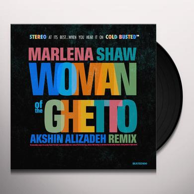 Marlena Shaw WOMAN OF THE GHETTO (AKSIN ALIZADEH MIXES) Vinyl Record