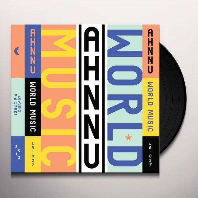 Ahnnu WORLD MUSIC / PERCEPTION Vinyl Record - Digital Download Included