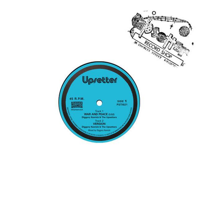 Diggory Kenrick & Upsetters WAR & PEACE Vinyl Record