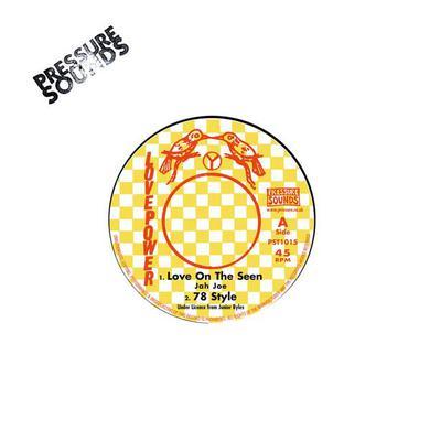 JAH JOE / BOOM B (JUNIOR BYLES) LOVE ON THE SEEN / JAH POWER Vinyl Record