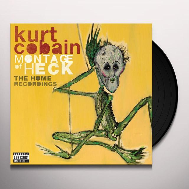 Kurt Cobain MONTAGE OF HECK: THE HOME RECORDINGS Vinyl Record - Deluxe Edition