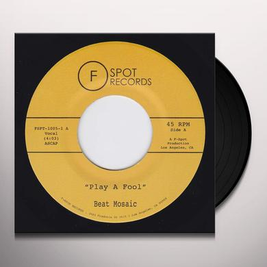 BEAT MOSAIC PLAY A FOOL / SHAPE OF YUOR SHAPE Vinyl Record