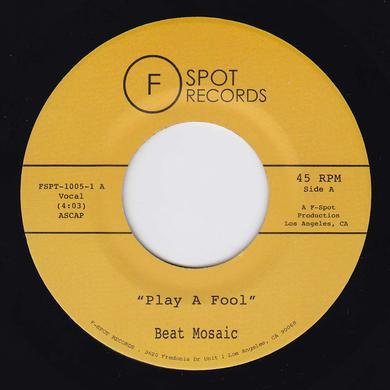BEAT MOSAIC PLAY A FOOL / SHAPE OF YUOR SHAPE Vinyl Record