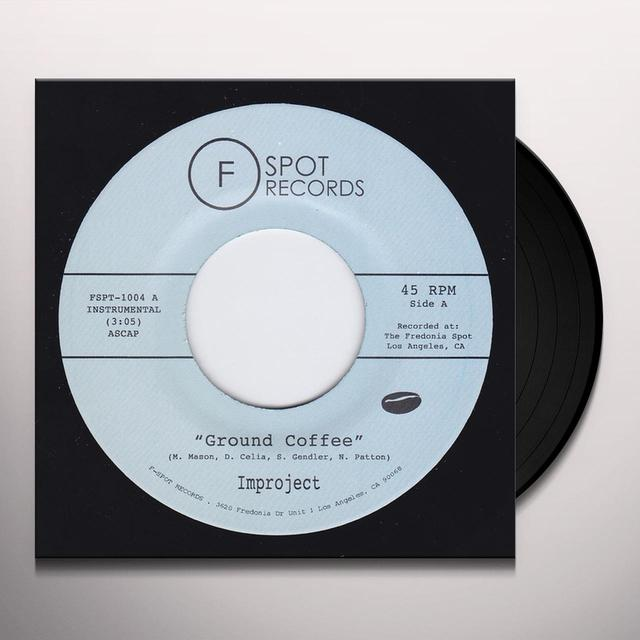 IMPROJECT GROUND COFFEE / STEPPIN Vinyl Record