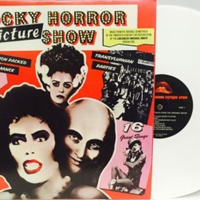 ROCKY HORROR PICTURE SHOW / O.S.T. (LTD) (WHT) ROCKY HORROR PICTURE SHOW / O.S.T. Vinyl Record - Limited Edition, White Vinyl