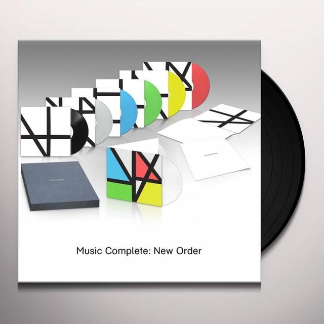 New Order MUSIC COMPLETE BOX SET (BOX) Vinyl Record