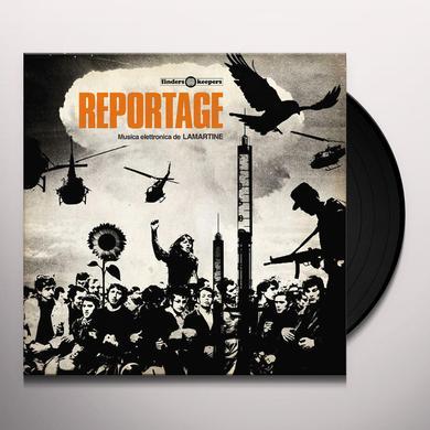 LAMARTINE REPORTAGE Vinyl Record - UK Import
