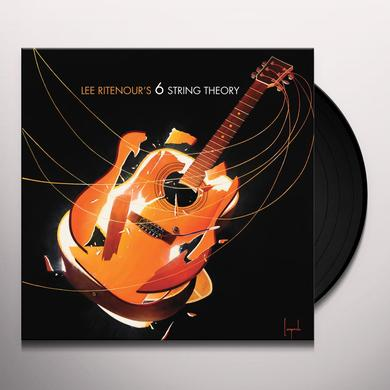 Lee Ritenour 6 STRING THEORY Vinyl Record - Asia Import