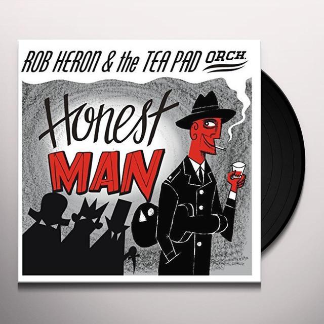 Rob Heron & Teapad Orchestra HONEST MAN Vinyl Record