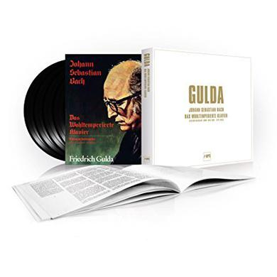 J.S. Bach / Friedrich Gulda WELL TEMPERED CLAVIER Vinyl Record