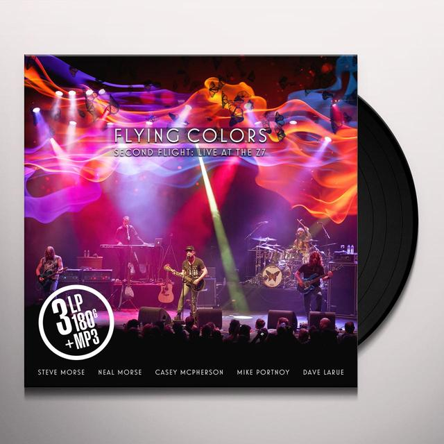 Flying Colors SECOND FLIGHT: LIVE AT THE Z7 Vinyl Record - 180 Gram Pressing, Digital Download Included