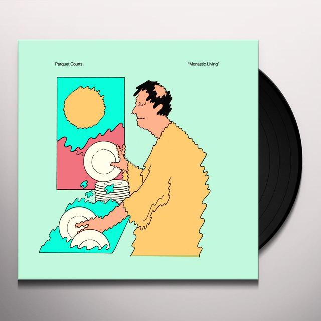 Parquet Courts MONASTIC LIVING (EP) Vinyl Record - Digital Download Included