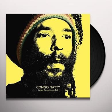 Congo Natty JUNGLE REVOLUTION IN DUB Vinyl Record - Digital Download Included