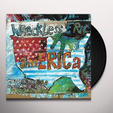 Wreckless Eric AMERICA Vinyl Record