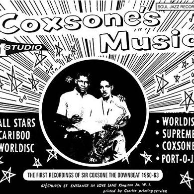 Soul Jazz Records Presents COXSONE'S MUSIC 2 Vinyl Record