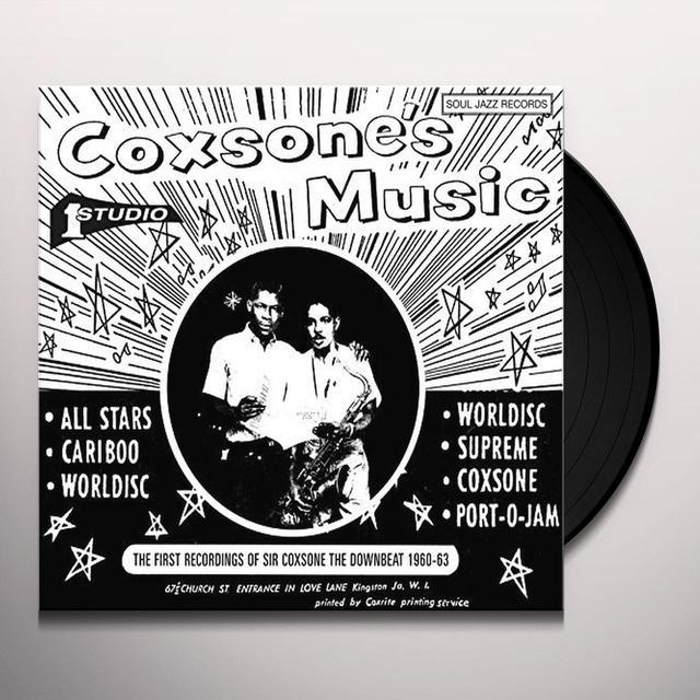 Soul Jazz Records Presents COXSONE'S MUSIC 2 Vinyl Record