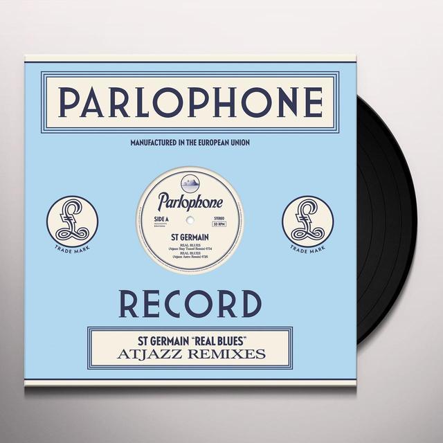 St. Germain REAL BLUES Vinyl Record - Portugal Import