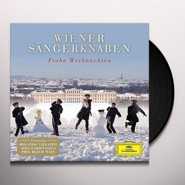 WIENER SAENGERKNABEN FROHE WEIHNACHTEN Vinyl Record - Portugal Import