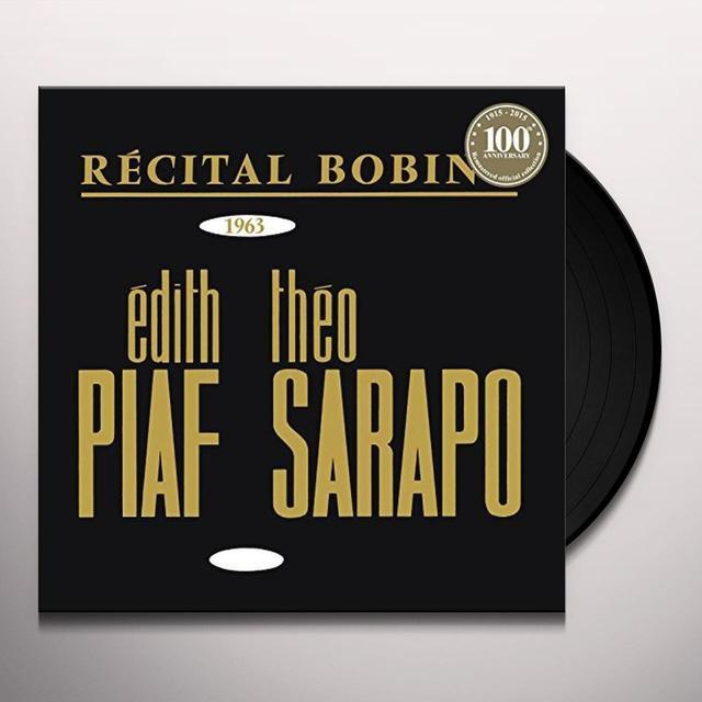 Édith Piaf BOBINO 1963 PIAF ET SARAPO Vinyl Record - Portugal Import