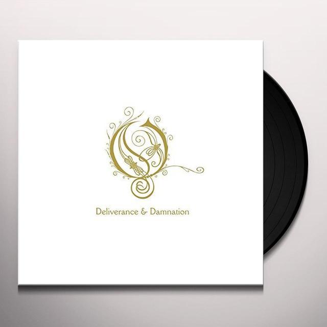 Opeth DAMNATION/DELIVERANCE Vinyl Record - Holland Import