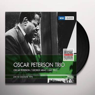 Oscar Peterson Trio LIVE IN COLOGNE 1970 Vinyl Record - 180 Gram Pressing, Holland Import