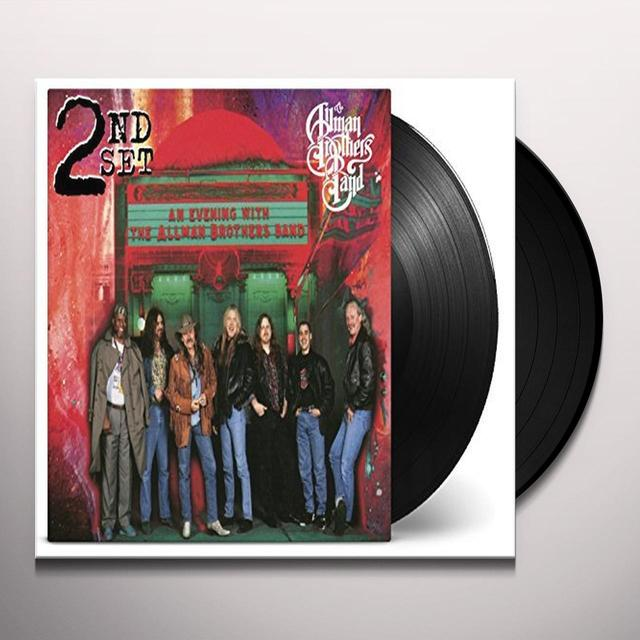 The Allman Brothers Band  EVENING WITH 2ND SET Vinyl Record - 180 Gram Pressing, Holland Import