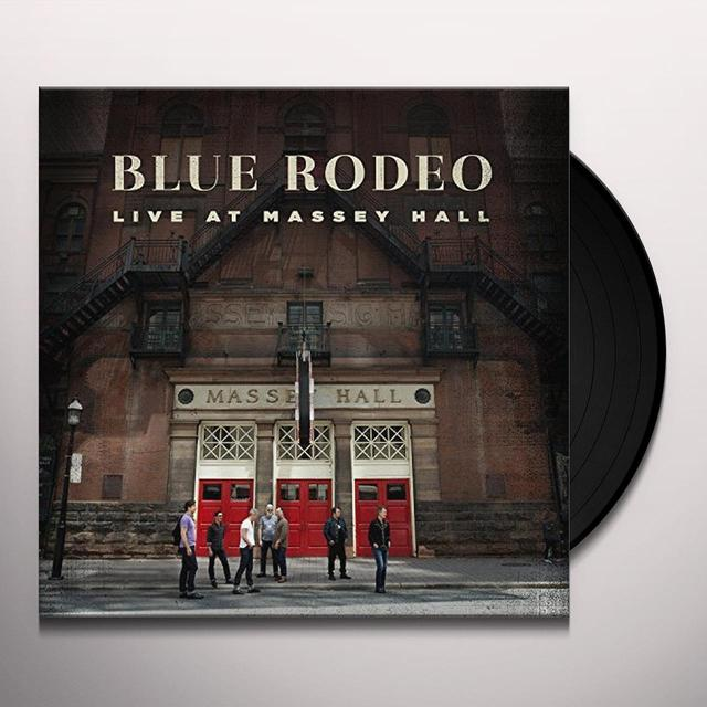Blue Rodeo LIVE AT MASSEY HALL Vinyl Record - Canada Import