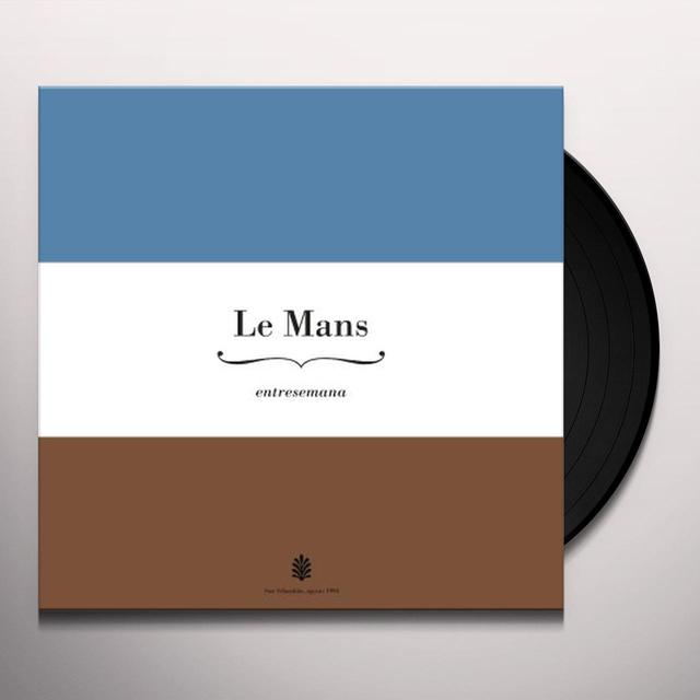 Le Mans ENTRESEMANA (15TH ANNIVERSARY SPECIAL REISSUE) Vinyl Record