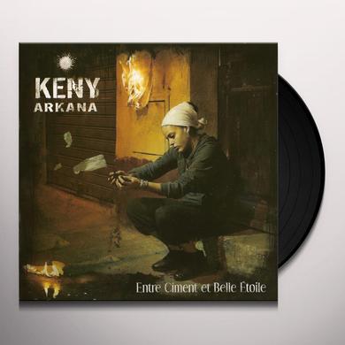 Keny Arkana ENTRE CIMENT ET BELLE ETOILE Vinyl Record - w/CD