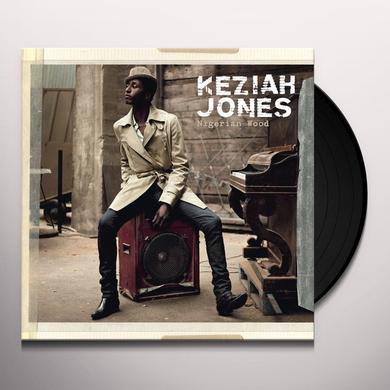 Keziah Jones NIGERIAN WOOD Vinyl Record - w/CD