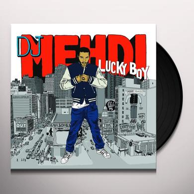 Dj Mehdi LUCKY BOY Vinyl Record - w/CD, Gatefold Sleeve