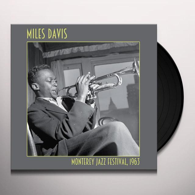 Miles Davis MONTEREY JAZZ FESTIVAL, 1963 Vinyl Record