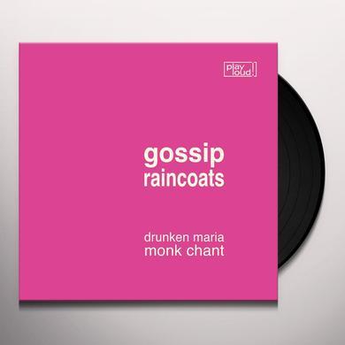 GOSSIP / RAINCOATS DRUNKEN MARIA / MONK CHANT Vinyl Record - Reissue