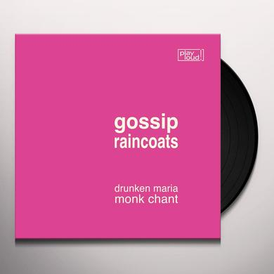 GOSSIP / RAINCOATS DRUNKEN MARIA / MONK CHANT Vinyl Record
