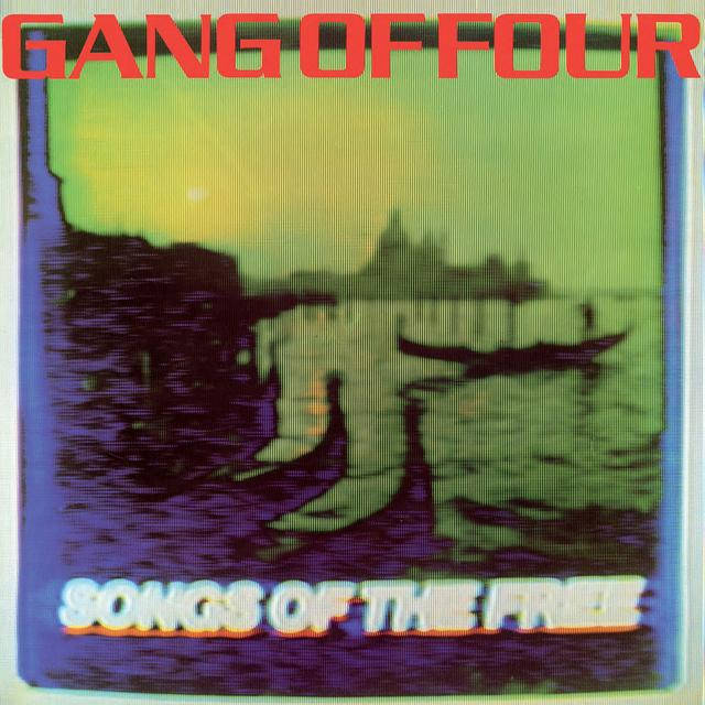 Gang Of Four SONGS OF THE FREE Vinyl Record - Colored Vinyl, 180 Gram Pressing