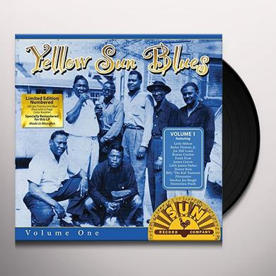 YELLOW SUN BLUES / VARIOUS Vinyl Record
