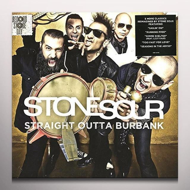 Stone Sour STRAIGHT OUTTA BURBANK Vinyl Record - Colored Vinyl, Clear Vinyl, Digital Download Included