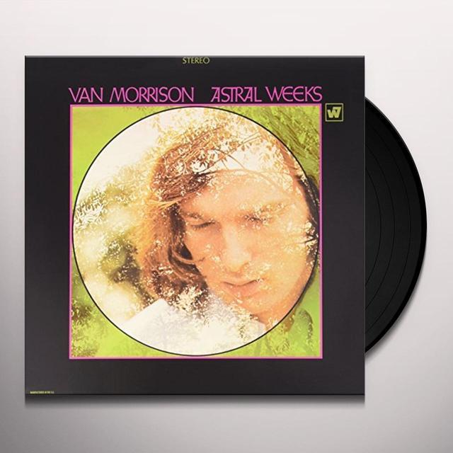 Van Morrison ASTRAL WEEKS Vinyl Record - Canada Import