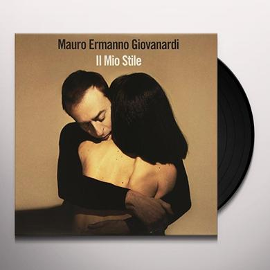 GIOVANARDI MAURO ERMANNO IL MIO STILE Vinyl Record