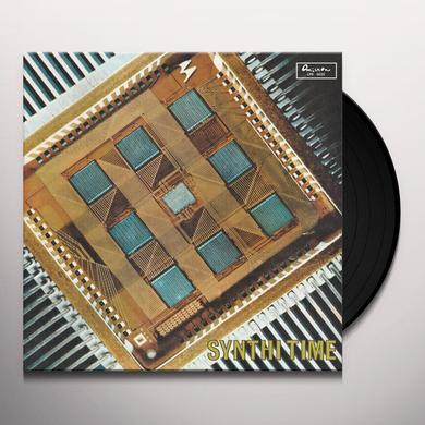 Piero Umiliani SYNTHI TIME Vinyl Record - Italy Import