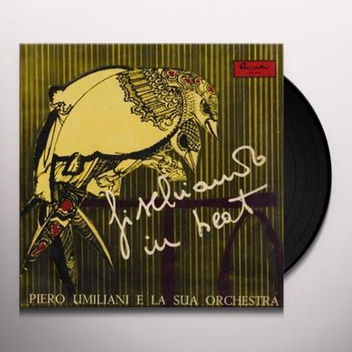 Piero Umiliani e la sua Orchestra FISCHIANDO IN BEAT Vinyl Record - Italy Release