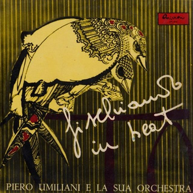 Piero Umiliani e la sua Orchestra FISCHIANDO IN BEAT Vinyl Record - Italy Import