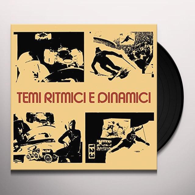 Braen'S Machine TEMI RITMICI E DINAMICI Vinyl Record - Italy Release