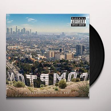 Dr Dre COMPTON Vinyl Record - UK Release