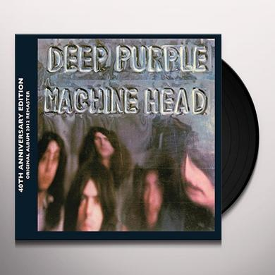 Deep Purple MACHINE HEAD Vinyl Record - UK Import