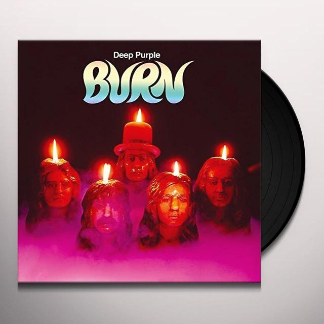 Deep Purple BURN Vinyl Record - UK Import