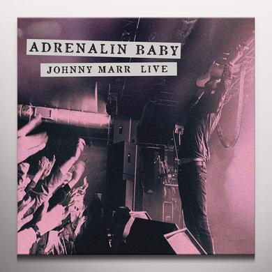 ADRENALIN BABY: JOHNNY MARR LIVE Vinyl Record - UK Import