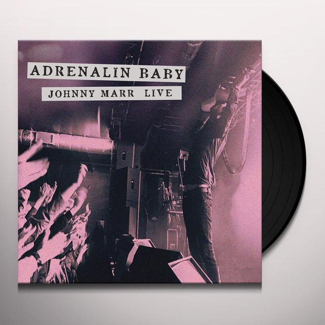ADRENALIN BABY: JOHNNY MARR LIVE Vinyl Record - UK Import