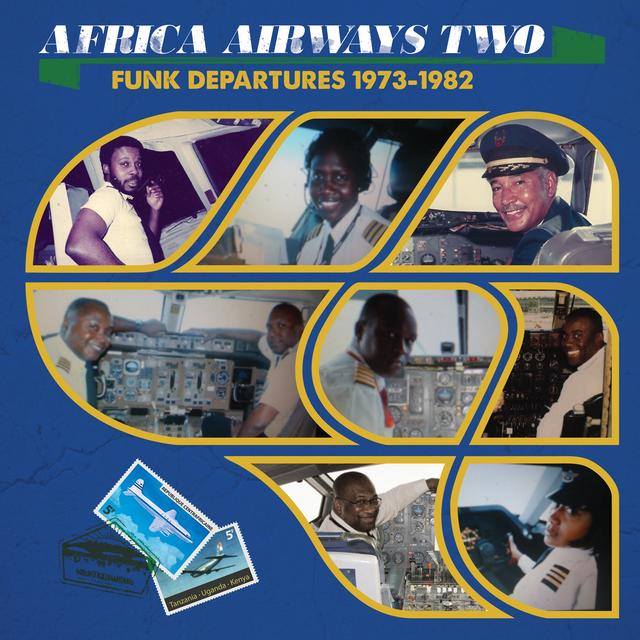 AFRICA AIRWAYS 02 (FUNK DEPARTURES 1973-1982) Vinyl Record - UK Import