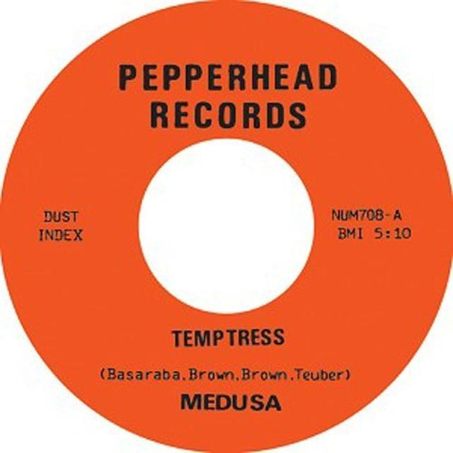 Medusa TEMPTRESS B/W SRANGULATION Vinyl Record - UK Import